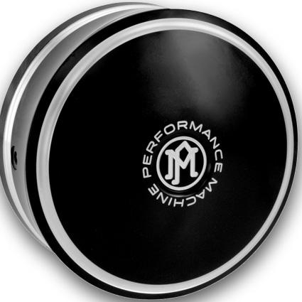 Performance Machine PM Merc Horn Cover contast cut  - 68-8616