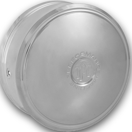 Performance Machine PM Merc Horn Cover chrome  - 68-8617