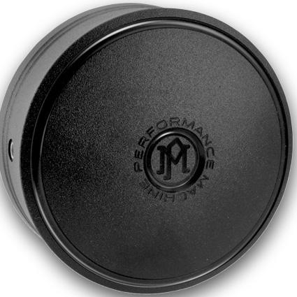 Performance Machine PM Merc Horn Cover black  - 68-8618