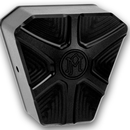 Performance Machine PM Array Horn Cover black  - 68-8621