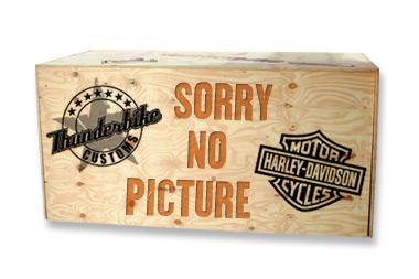 Custom Chrome Kickstand Wedge Kit  - 68-8695