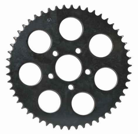 Custom Chrome Kettenrad hinten, 48 Zähne, schwarz 6mm Offset  - 68-8917