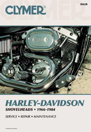 Clymer Clymer Book HD M420  - 68-90420