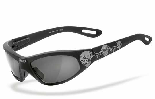 Helly Helly Bikereyes Brille Black Angel Tribal silber  - 69-6203