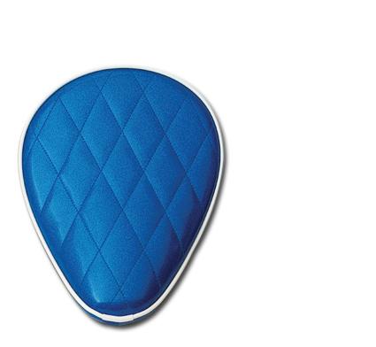 Le Pera Le Pera Solo Federsitz Blue Metal Flake  - 69-6432