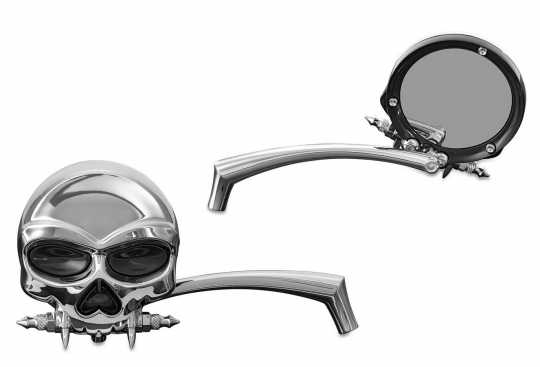 Küryakyn Zombie Mirrors, Chrome