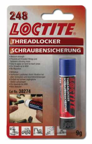 Loctite Loctite 248 Schraubensicherung Blue Stick (mittelfest, 9g)  - 69-0043