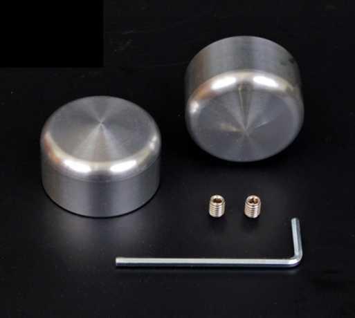 Flywheel Design Flywheel Design Aluminium Achskappen raw / vorne  - 69-0865