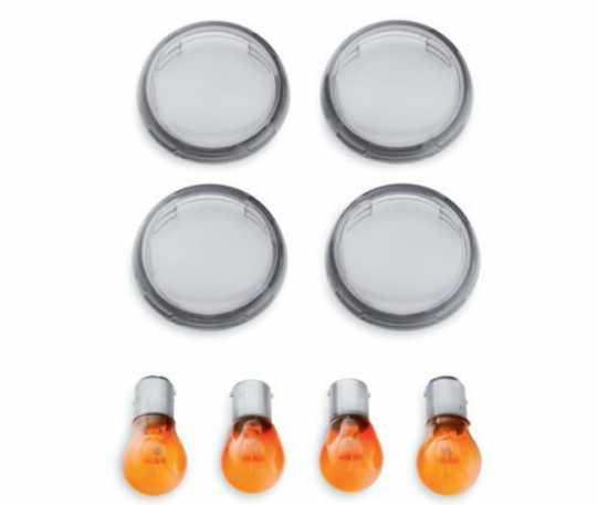 Bullet Turn Signal Lens Kit, smoked