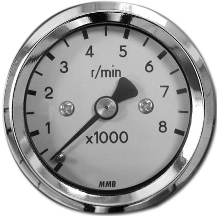 MMB MMB Basic Drehzahlmesser 48 mm  - 69-6303V