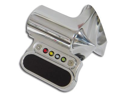 Pistor Pistor Motoscope Mini Adapter für Classic Hyper-Force Platte, poliert  - 69-6379