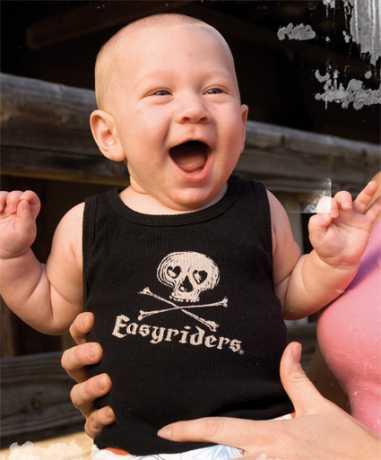 Easyriders Roadware Easyriders Kids Shirt Little Bones  - 69-6935V