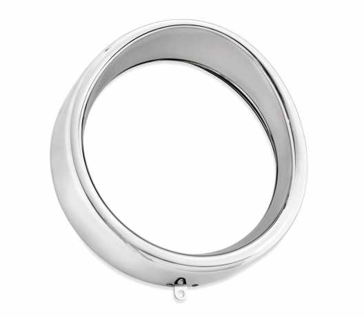 Harley-Davidson Visor Style Trim Ring for Headlamp chrome  - 69734-05