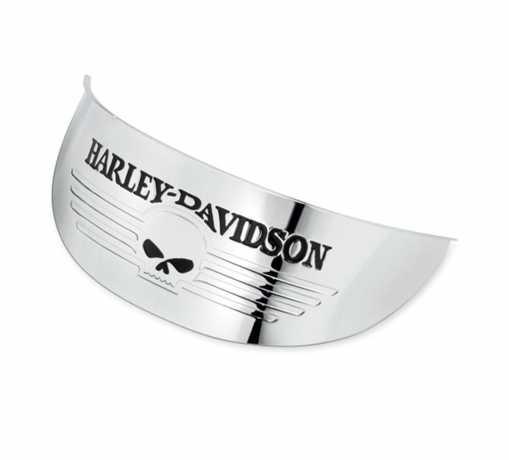 """Harley-Davidson Skull lamp Visor for 7"""" Headlamp  - 69793-07"""