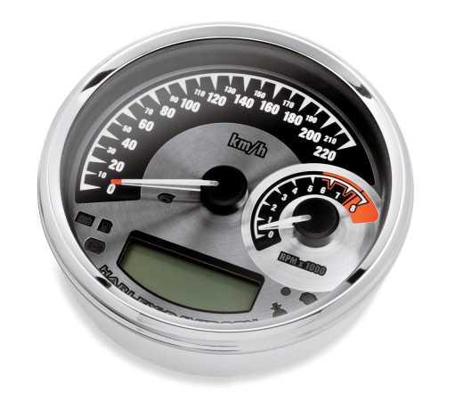 "Harley-Davidson Analog 5"" Speedometer/Tachometer km/h  - 70900071A"