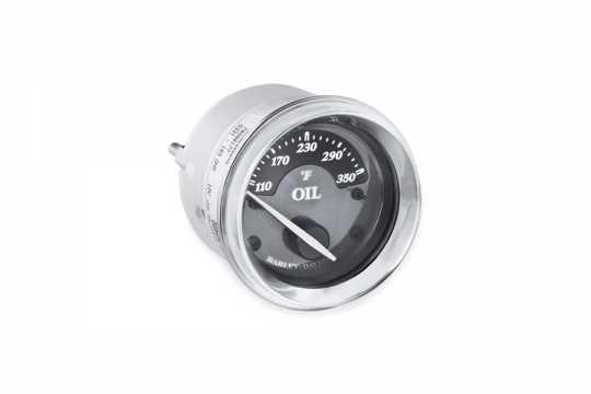 Harley-Davidson Oil Temperature Gauge - Fairing Mount - Fahrenheit.  - 70900176