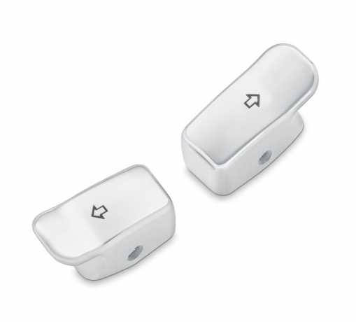 Harley-Davidson Turn Signal Extension Caps chrome  - 71500178