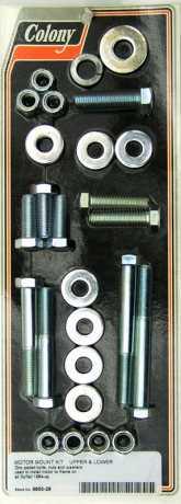 Colony Colony Motor mounting screw-kit, zinc  - 72-058