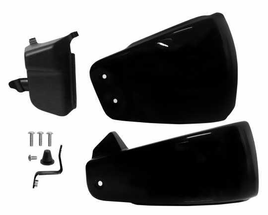 Thunderbike Seitendeckel Kit schwarz matt  - 72-74-260
