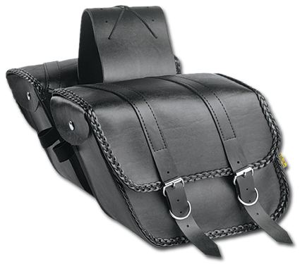 Willie & Max SB707B Saddlebag Compact Braided Slant