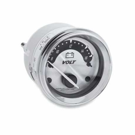Voltmeter with Spun Aluminum Face
