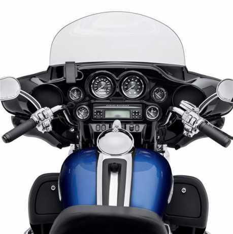 "Harley-Davidson 4"" Speedometer- km/h with Titanium Face  - 74683-10"