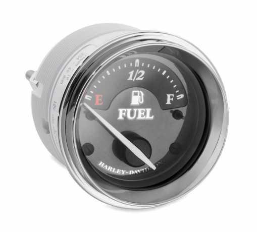 Harley-Davidson Fuel Gauge with Titanium Face  - 74688-10