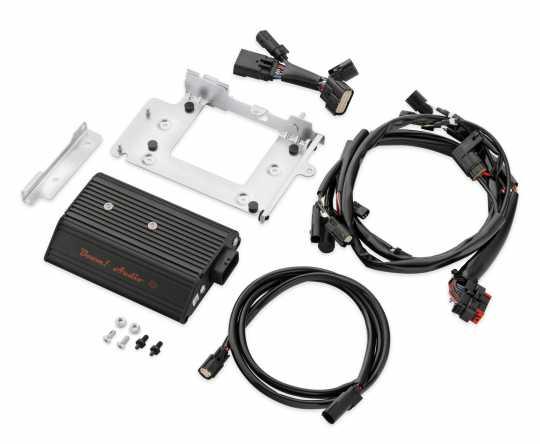 Harley-Davidson Boom! Audio Verstärker 4x75W mit Verkleidungshalter  - 76000278A