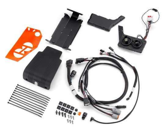 Harley-Davidson H-D Audio by Rockford Fosgate Primary Verstärker Einbau Kit  - 76001045