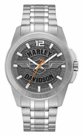 Bulova Harley -Davidson Watch Slate Grey  - 76A157