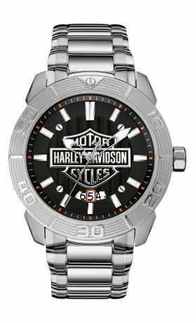 Bulova Harley-Davidson men´s Watch Raised Brake Lever  - 76B169