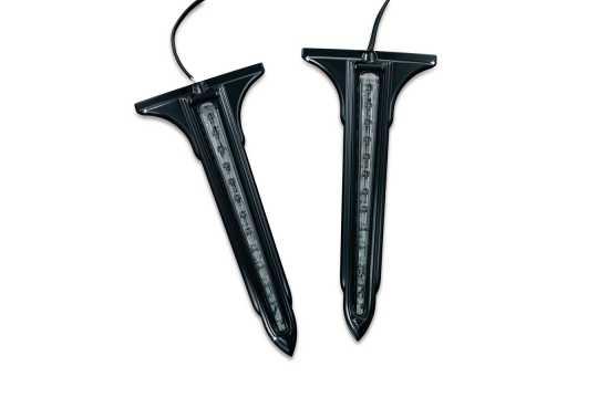 Küryakyn Küryakyn LED Verzierung für Satteltaschen, hinten, schwarz / getönt  - 77-7263