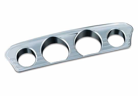 Küryakyn Küryakyn Tri-Line Gauge Trim, Chrome  - 77-7284
