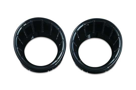 Küryakyn Küryakyn LED Geschwindigkeitsmesser / Tacho Blenden, schwarz & blau  - 77-7288