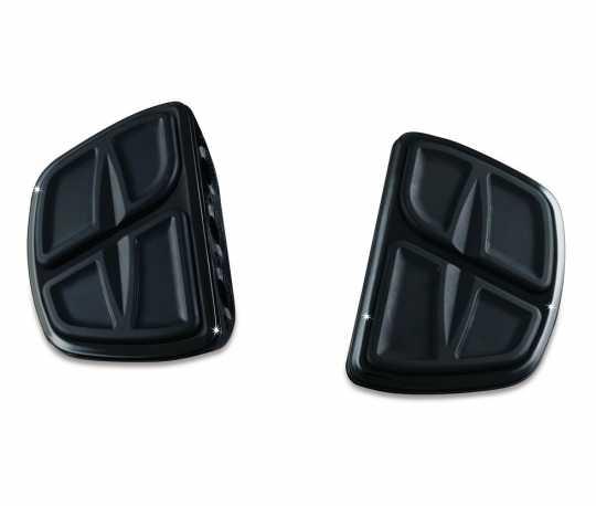 Küryakyn Küryakyn Kinetic Mini Trittbretter ohne Adapter, schwarz  - 77-7613