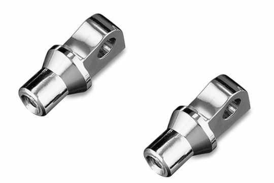 Küryakyn Küryakyn Peg Adapters, H-D Male Mount  - 77-8008