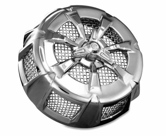 Küryakyn Küryakyn Alley Cat Air Cleaner Cover, Chrome  - 77-9439