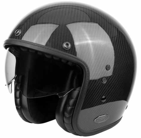 Scorpion Helmets Scorpion Belfast Carbon Noir Helm glänzend  - 81-261-03V