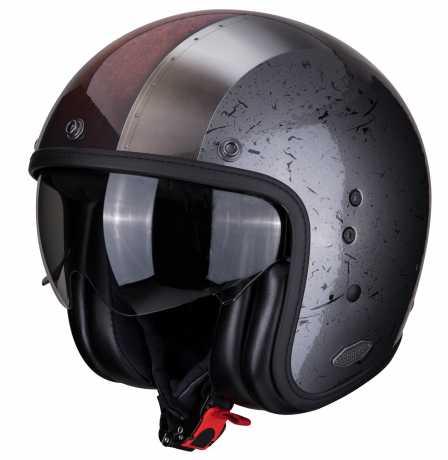 Scorpion Helmets Scorpion Belfast Helm Byway silber S - 81-294-04-03