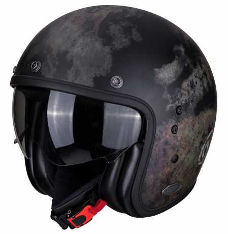 Scorpion Helmets Scorpion Belfast Helm Tempus schwarz  - 81-295-03V