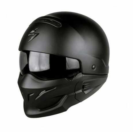 Scorpion Helmets Scorpion Exo Combat Helm, schwarz matt L - 82-100-10-05