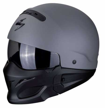 Scorpion Helmets Scorpion Exo Combat Helmet Solid Gris Ciment  - 82-100-228V