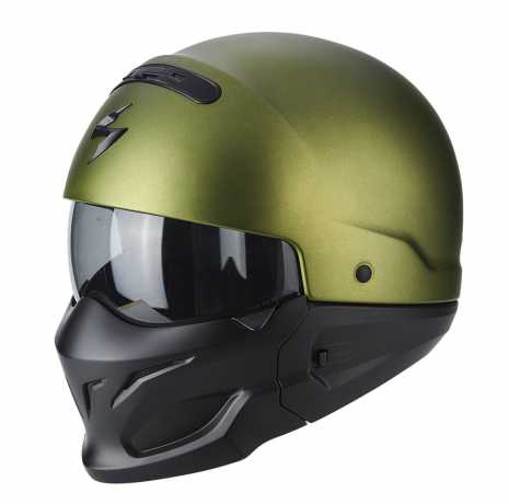 Scorpion Helmets Scorpion Exo Combat Helm, matt grün  - 82-100-29V
