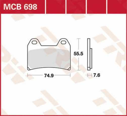Thunderbike Brake pads RS  - 84-99-381