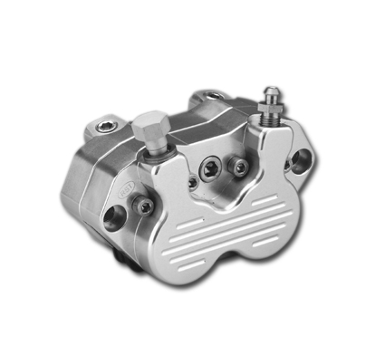 RST RST 4-Piston Caliper front, polished  - 84-421