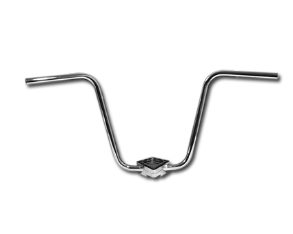 Fehling Fehling Ape Hanger Extra High 46cm chrome  - 84-664