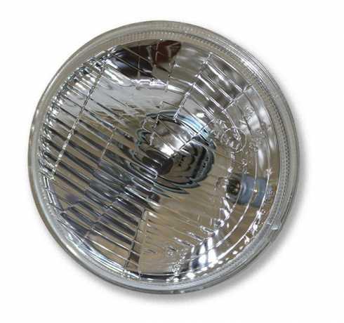 Custom Chrome Headlight Insert 5-3/4 Inch H4  ithout Bulb 12V  - 84-838