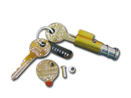 Steering column lock 18mm with 2 keys  - 86-519