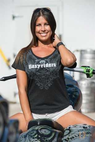 Easyriders Roadware Easyriders Ladies T-Shirt Ao Eagle S/S  - 88-8561V