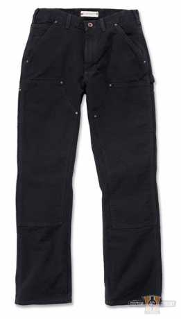 Carhartt Carhartt Double Front Work Pant, black  - 88-8737V